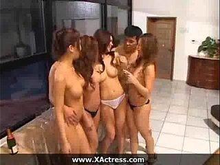 Asian Swinger Orgy