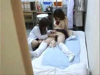 Schoolgirl seduced by female Doctor 2
